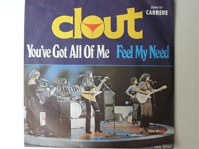 "Clout - You've Got All Of Me  7"" Vinyl Single"