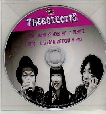 (CJ287) The Boicotts, I Don't Wanna Be Your Boy - DJ CD