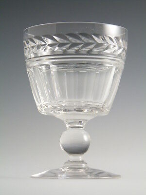 STUART Crystal - ARUNDEL Cut - Port Wine Glass / Glasses - 3 1/2""