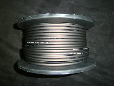 10 GAUGE AWG WIRE 50 FT BLACK CABLE POWER GROUND STRANDED PRIMARY FAST SHIPPING