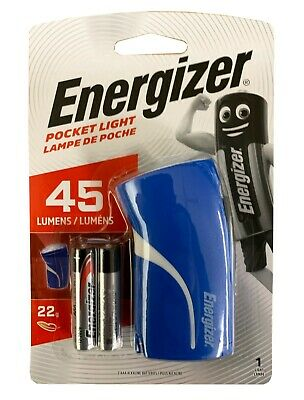 Compact Energizer LED Pocket Torch Light Flashlight 3 x AAA Batteries Supplied