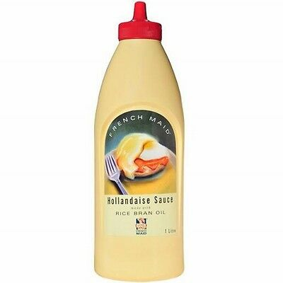 Hollandaise Sauce 1 Litre By French Maid In Handy Squirt Bottle - Free Post