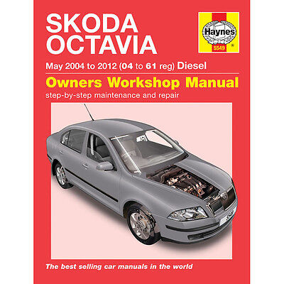 [5549] Skoda Octavia 1.9 2.0 Diesel 2004-11 (04 to 11 Reg) Haynes Workshop Manua
