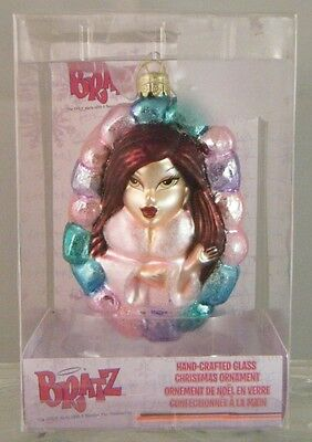NEW Kurt S. Adler BRATZ 'Somewhat Spoiled' Blown Glass Christmas Ornament 4.5""