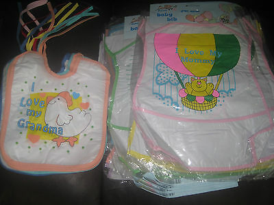 Clearance.. 450x Babies Bibs.. Mixed Joblot.. Below Wholesale Price. Car Booters