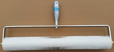 Spiked Aeration Roller 750mm Latex Self Levelling Screeding Leveller Flooring