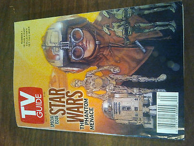 Star Wars TV Guide May 1999 Star Wars NUMBER 1 OF COLLECTOR'S EDITION