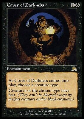 FAVORE DELLE TENEBRE - COVER OF DARKNESS Magic ONS Mint