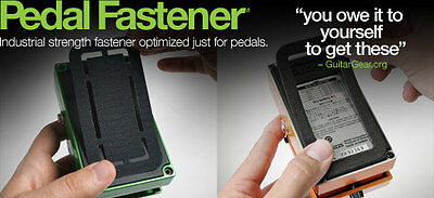 StageTrix - 3 Pedal Fasteners - Perfect for pedals, superior hold, no glue mess
