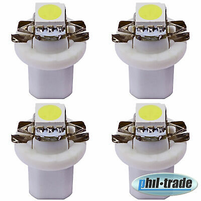 weiße high Power SMD LED Tacho Beleuchtung Smart Fortwo 450 Coupe Cabrio  41