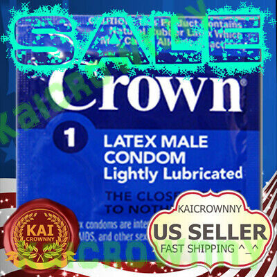 100 PCS Crown Skinless Thin Condoms Fast Shipping NEW 2017 ^_^ !!!