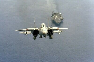 Steady F-14 Tomcat Fighter Jets Taking Off 11x14 Silver Halide Photo Print Collectibles Aviation