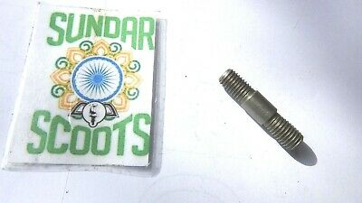 Single Stainless Steel Short Inlet Stud.suitable For Lambretta Scooters