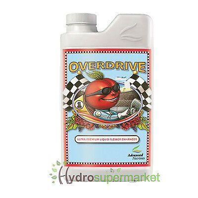 Overdrive Premium Bud Booster - Increases Harvests  1L Advanced Nutrients Boost