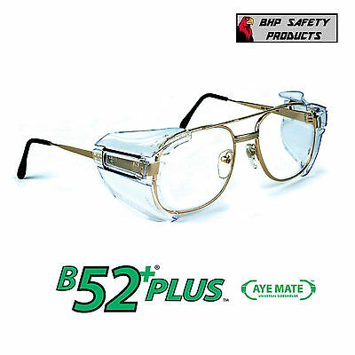 B52+ Side Shields For Rx Glasses Safety Eyewear Eye Protection Z87.1 Compliant