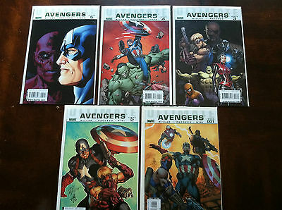 Ultimate Avengers #1-5 VF/NM condition