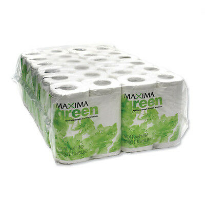 36 Maxima Green 320 Sheet VALUE LARGE (not 200 sheet) Toilet Paper Roll Pack
