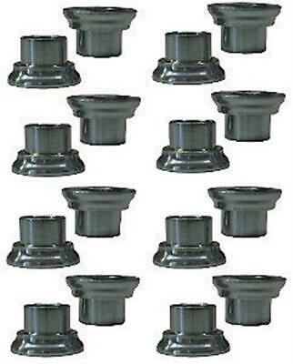 Tapered Rod End Heim Reducers 8 pair Spacers 5/8 to 1/2 IMCA Heims Misalignment