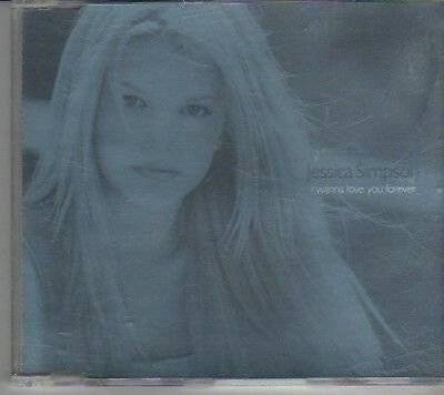 (CL160) Jessica Simpson, I Wanna Love You Forever - 2000 CD