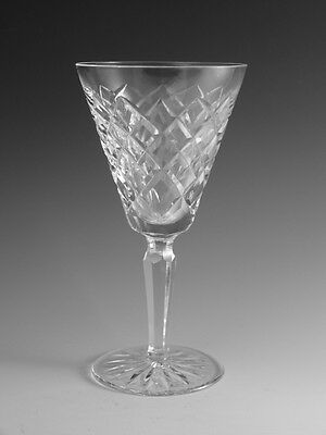 """WATERFORD Crystal - TYRONE Cut - White Wine Glass / Glasses - 6 1/4"""""""