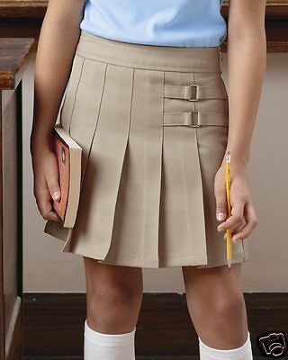 French Toast Girls Pleated Scooter Skort Skirt X9103 School Uniform 4-18