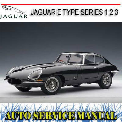 Jaguar E Type Series 1 2 3 1961-1974 Service Repair Manual ~ Dvd
