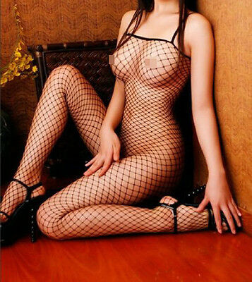 Sexy Lingerie Body Stocking Fishnet Open Crotch Bodystocking