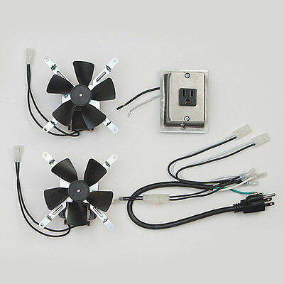 Montigo RFK1002 Fireplace Fan Blower Complete Kit **New Original Factory Model**