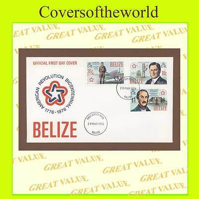 Belize 1976 Americam Revolution Bicentenary First Day Cover