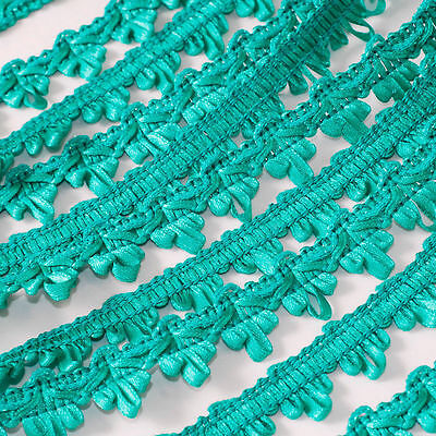 French Woven Braided Scalloped Gimp Trim Ribbon 25 Yards Sewing Craft Embellish