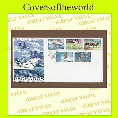 Barbados 1971 Tourist Issue set First Day Cover
