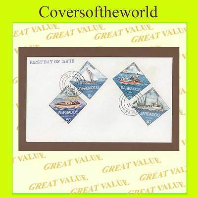 Barbados 1974 Fishing Boats set First Day Cover