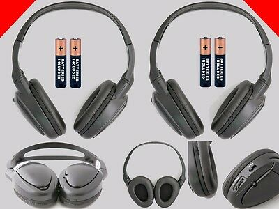2 Wireless Headphones for Infiniti DVD System : New Headsets