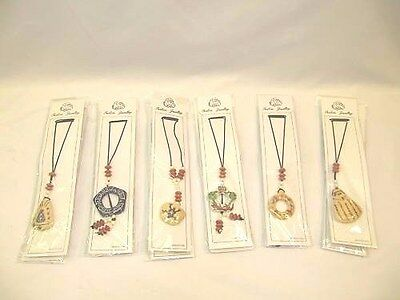 NEW Wholesale Job Lot 24 x Fashion Jewellery Necklaces - 6 Different Designs