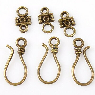 40x 160631 Wholesale New Fashion Charms Antique Bronze Toggle Clasp Finding
