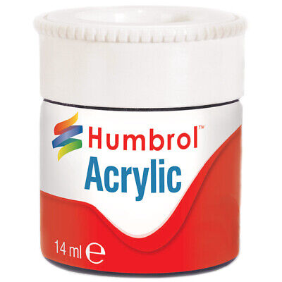Humbrol Acrylic Matt Paints- Colours Natural Wood to White
