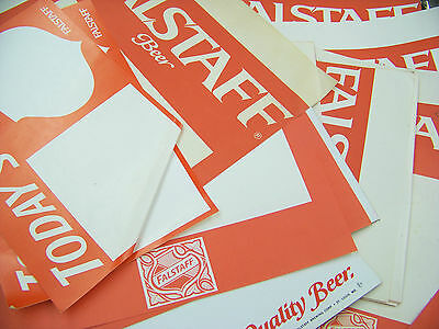 Assorted Lot Falstaff Beer Advertising Posters