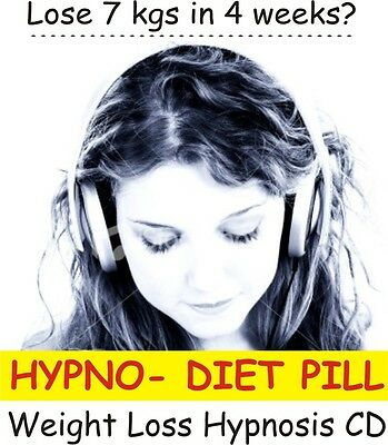 HYPNO DIET PILL Fast Weight Loss Hypnosis CD - Have Energy Get Slim NO TABLETS