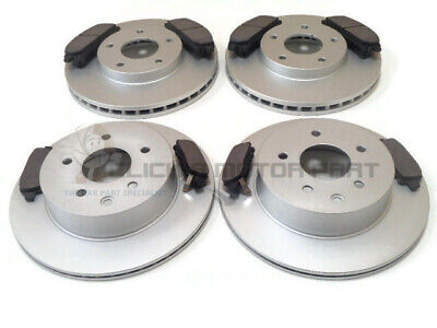 FOR NISSAN X-TRAIL 2.0 2.2 DCi 2.5 SPORT SVE FRONT & REAR BRAKE DISCS & PADS