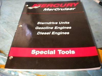 USED 01 Mercury Mercruiser Sterndrive Gas & Diesel Engines Special Tools Guide