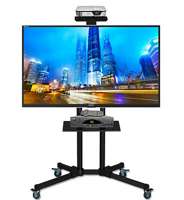 Universal Mobile TV Cart TV Stand with Mount for 40 - 65 inch LED, LCD, Plasma