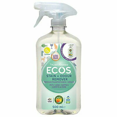Earth Friendly Everyday Organic Stain and Odour Remover Spray 500ml - Lemon Oil