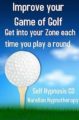 Improve your Golf Self Hypnosis CD - Narellan Hypnotherapy