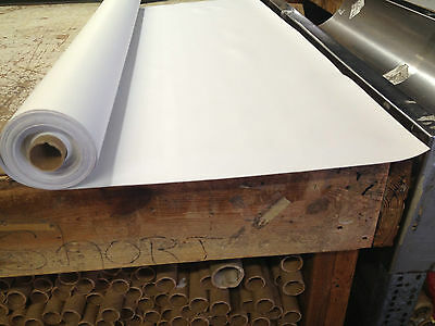"Bright White Marine Vinyl 10 Yd Roll (54""x 30 Ft) Boat Seats And Upholstery"