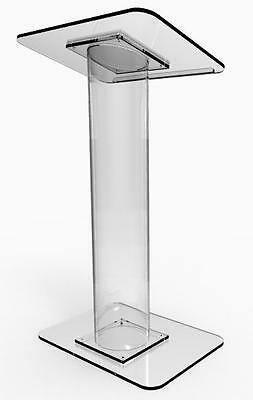 Plexiglass Acrylic Podium Clear conference Lectern Church Pulpit 1803-7 Clear