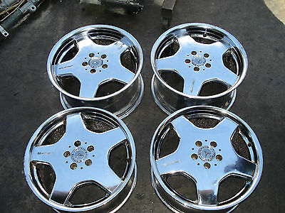 """01 02 03 04 05 06 Mercedes Benz S Class 18"""" RIM WHEEL OEM (AMG STAGERED STYLE)"""