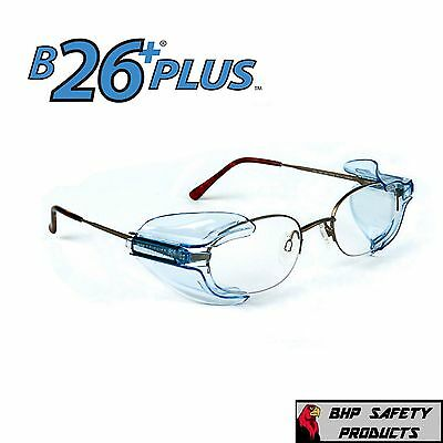 523b0c91fc2 (20 Pair) B26+ Side Shields For Rx Glasses Safety Eyewear Eye Protection  Z87.