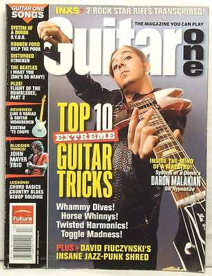 Top 10 Tricks Guitar One Magazine Daron Malakian System Of A Down Holiday 2005!