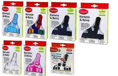 Clippasafe Easy Wash Harness & Reins Premium For Children O-4Years