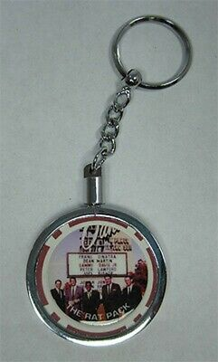 Key Chain Sands Rat Pack Fantasy Chip With Silver Chip Holder New FREE Shipping*